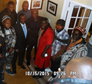 Ghana Music Delegation with Deputy Chief of Mission