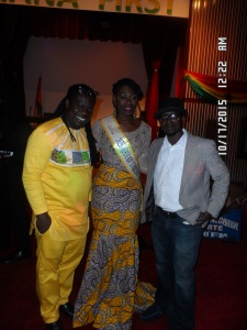 Obour, Miss Ghana Tourism USA, and guest